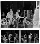 Gregg and Duane Allman backstage at Fillmore East, June 27, 1971
