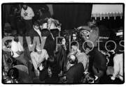 Backstage after a Grateful Dead concert, January 2, 1970