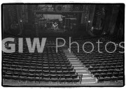 View from the balcony at Fillmore East, Jimi Hendrix sound check rehearsal December 31, 1969