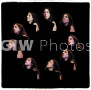 Laura Nyro at Fillmore East multiple image, June 17, 1970