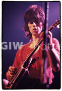 Keith Richards of the Rolling Stones at Madison Square Garden, November 27, 1969