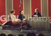 George Segal, Dick Cavett, Buck Henry