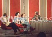 Jerry Rubin, Phillip A. Luce, DIck Cavett, Billy Kidd