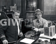 Welcome to Danger -  Harold Lloyd with cop, demonstration with water