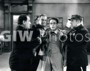 Welcome to Danger -  Harold Lloyd, 3 cops rough him up