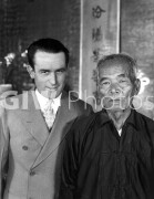 Welcome to Danger -  from photo cut from sequence - Harold Lloyd with elderly Asian man