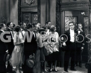 Welcome to Danger -  from photo cut from sequence - Harold Lloyd with plant at elevator
