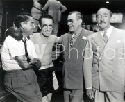 The Milky Way -  Behind the scenes- Harold Lloyd at ring with 3 men
