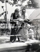 The Milky Way -  Behind the scenes- Harold Lloyd in ring with co-star