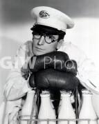 The Milky Way -  PUB Harold Lloyd headshot, milkman with gloves, serious