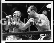 Rocky Marciano KO's Jersey Joe Walcott.