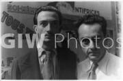 Salvador Dali and Man Ray