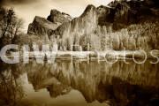 Yosemite Valley - infrared