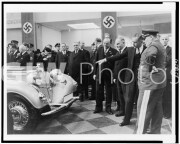 Hermann G?ring and others looking at Mercedes SSK