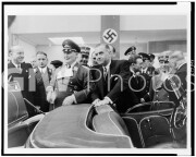 Hermann Goering and others looking at Mercedes SSK