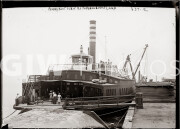 Probably New York City. July 17, 1909. Ferryboat, used as a tuberculosis camp.