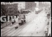 New York City. Railroad cars on 11th Avenue.