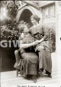 Anne Sullivan Macy and Helen Keller.