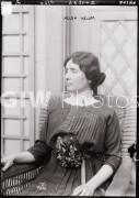 New York City. April 1913. Helen Keller (1880-1968) possibly at the International Flower Show.