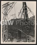 Arizona-Nevada border. 1941. Electical equipment at Boulder Dam (now named Hoover Dam).
