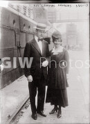 1910s. Roy Chapman Andrews and his wife, Yvette Borup.