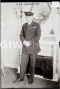 English polar explorer Sir Ernest Shackleton.