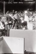 New York City. 1921. Mrs. Babe Ruth, nee Helen Woodford.