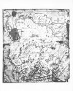 Pearl Harbor, Hawaii. December 7, 1941. Japanese chart of Pearl Harbor captured from Japanese submarine.