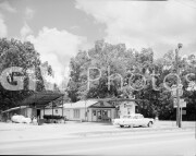 Plains, Georgia. View of Billy Carter's Service Station, 216 West Church Street.